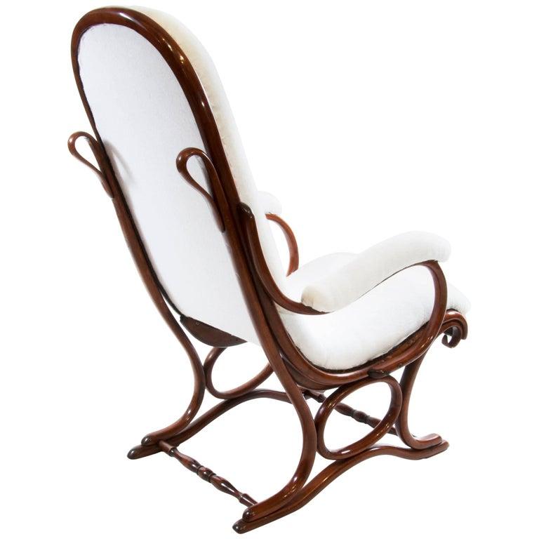Antique Livingroom Armchair Thonet No. 1 Bentwood Armchairs Salonfauteuil