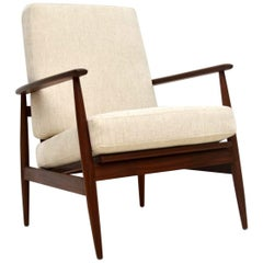 1960s Afromosia Vintage Armchair