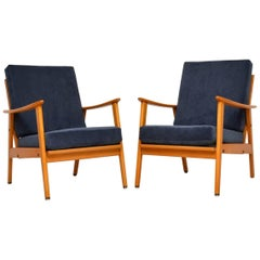 1960s Pair of Danish Vintage Armchairs