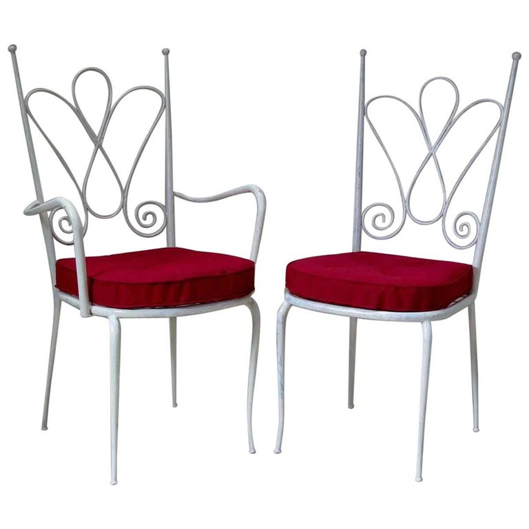 Set of 13 French 1950s Chairs