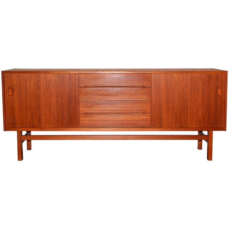 "Midcentury Swedish Teak Sideboard ""Arild"" by Nils Jonsson for Troeds"