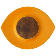 Jens Quistgaard for Dansk Festival Orange Serving Tray