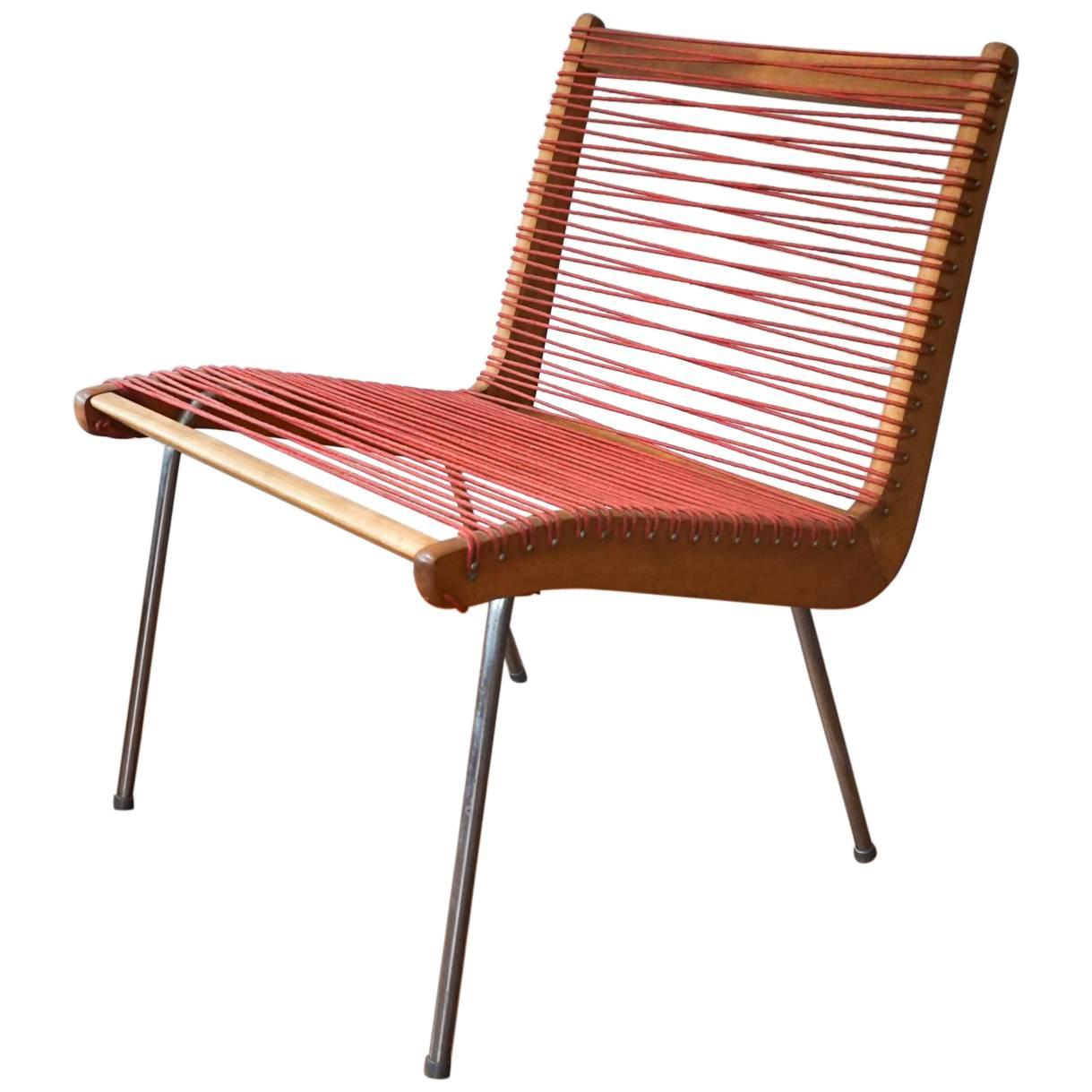 String Chair By Robert J Ellenberger For Calfab Good Design, 1950s For Sale