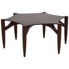 Greta Grossman Rosewood Coffee Table