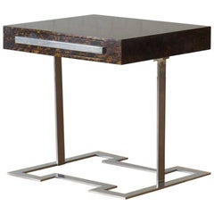 Fine Faux Tortoise Shell Desk