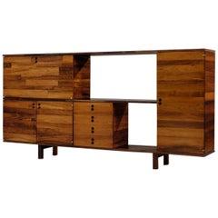 Jorge Zalszupin Rosewood Room Divider