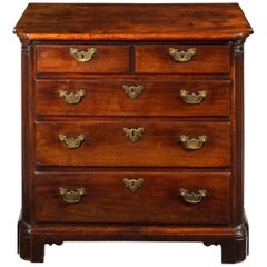 18th Century Small Bachelors Chest of Drawers