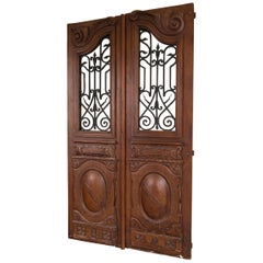 Set of Early 20th Century Carved Doors