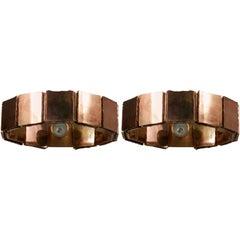 Pair of Ring Wall Lights by Sabrina Landini