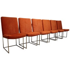 Set of Six Milo Baughman for Thayer Coggin Dining Chairs