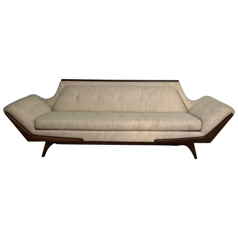 Adrian Pearsall Gondola Sofa for Craft Associates