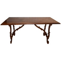 Late 18th Century Italian Walnut Refectory Table