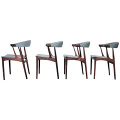 Brdr. Johannes Andersen for Andersens Møbelfabrik Model Ba 113 Dining Chairs, De