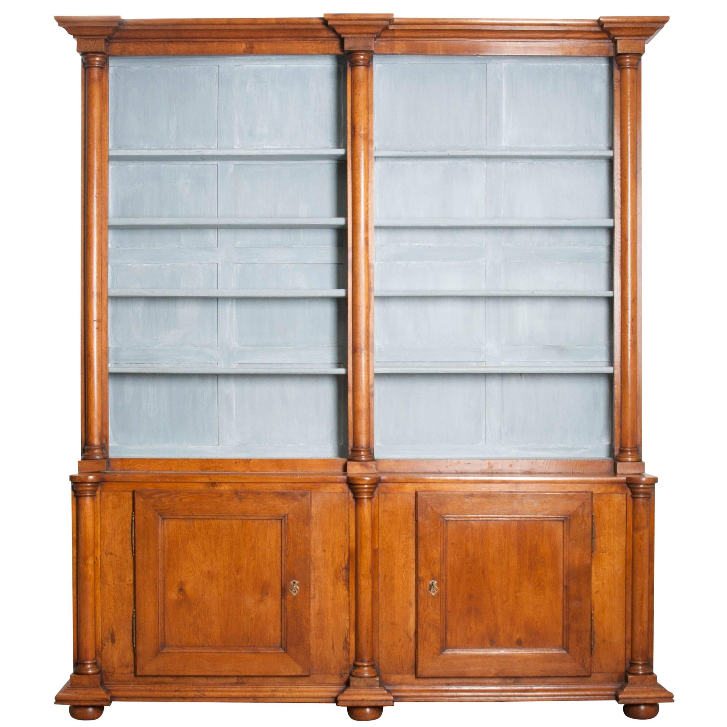 French Provincial Wall Units. Large Size Of Armoire With Glass Doors ...