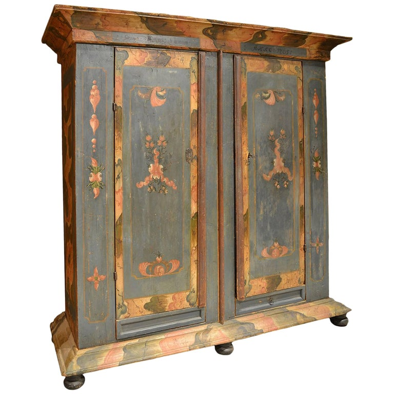 Painted Dutch Cabinet