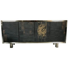Signed and Rare Pia Manu Ceramic Sideboard