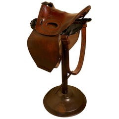 Quirky High Bar Stool, Horse Saddle Bar Stool