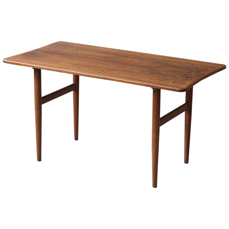 Rosewood Coffee Table by Kurt Østervig for Jason Møbler, 1960s