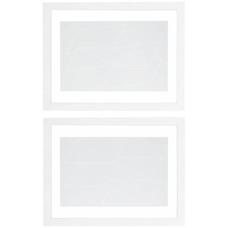 Abstract Lithographs by Josef Albers from Formulation and Articulation