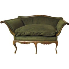 18th Century Venetian Hand-Painted Sofa