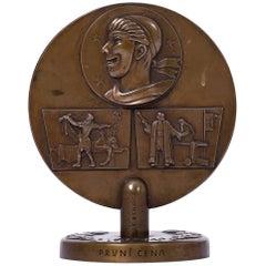 Bronze from Jaroslav Benda, 1948
