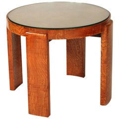Art Deco Table Designed by Jacques Adnet