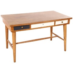 Italian Writing Table in the Manner of Gio Ponti, circa 1960