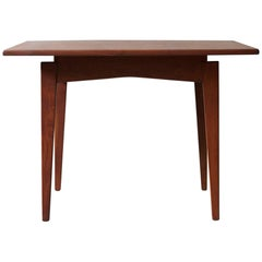 Jens Risom Floating Square Walnut Coffee Table