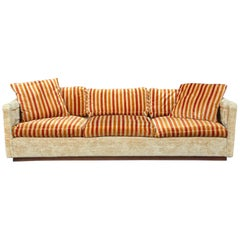 Tuxedo Sofa by Milo Baughman for Thayer Coggin