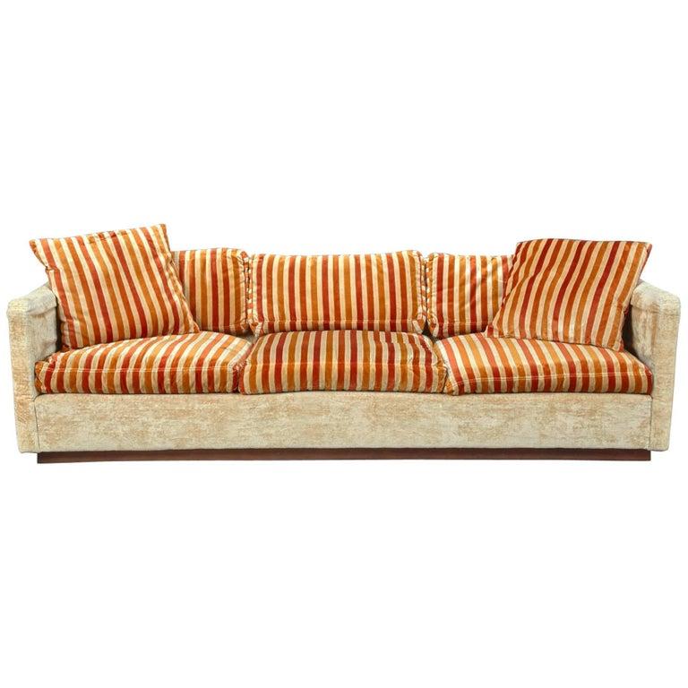 Tuxedo Sofa by Milo Baughman for Thayer Coggin