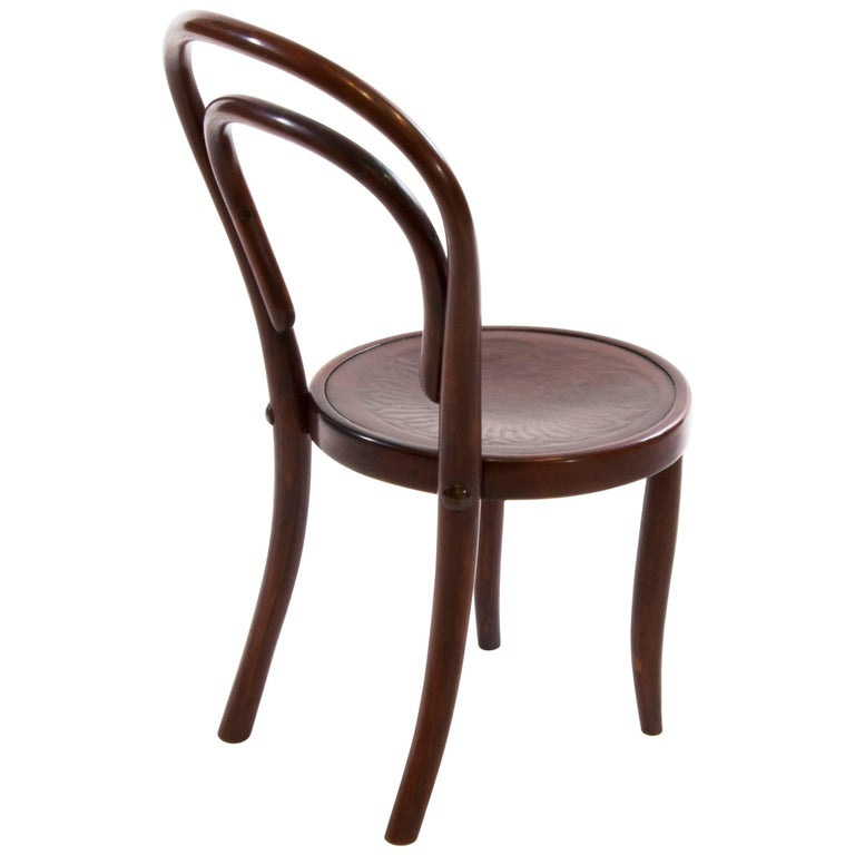Thonet Children Bentwood Chair No 1 For Sale At 1stdibs