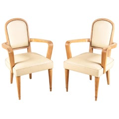Pair of  Armchairs circa 1940 attributed to Batistin Spade