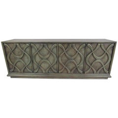 Vintage Sculptural Credenza by Stanley Furniture