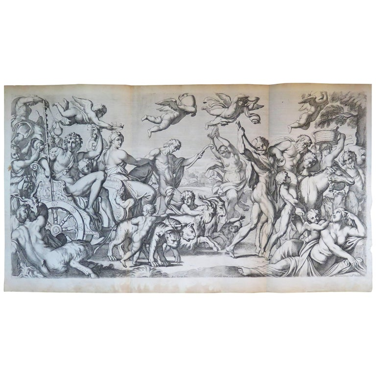 17th Century Engraving by Carlo Cesion
