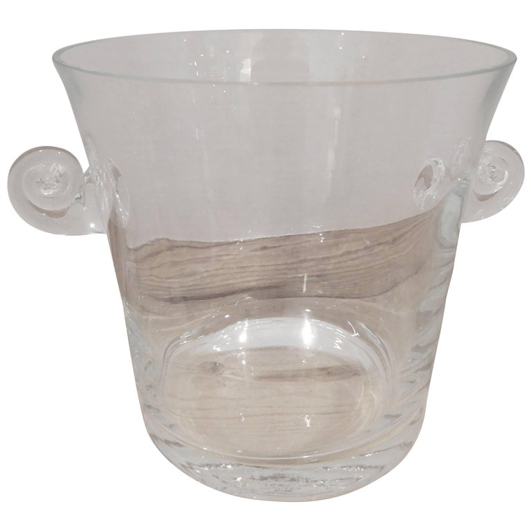 Baccarat Crystal Ice Bucket, 1960s For Sale