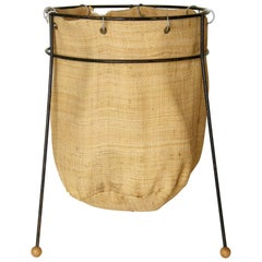 Wastebasket Designed by Seymour Robins for Sondra Kay Interiors