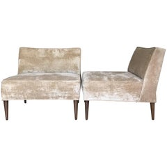 Pair of Lounge Chairs Attributed to Greta Grossman