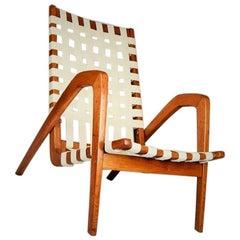 Easy Chair by Jan Vanek for Krasna Jizba, 1950s