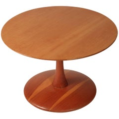 Scandinavian Modern Danish Vintage Pine Table by Nanna Ditzel