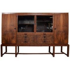 Bruno Paul Rosewood Cabinet Deutsche for Werkstätten Hellerau GmbH, Art Deco