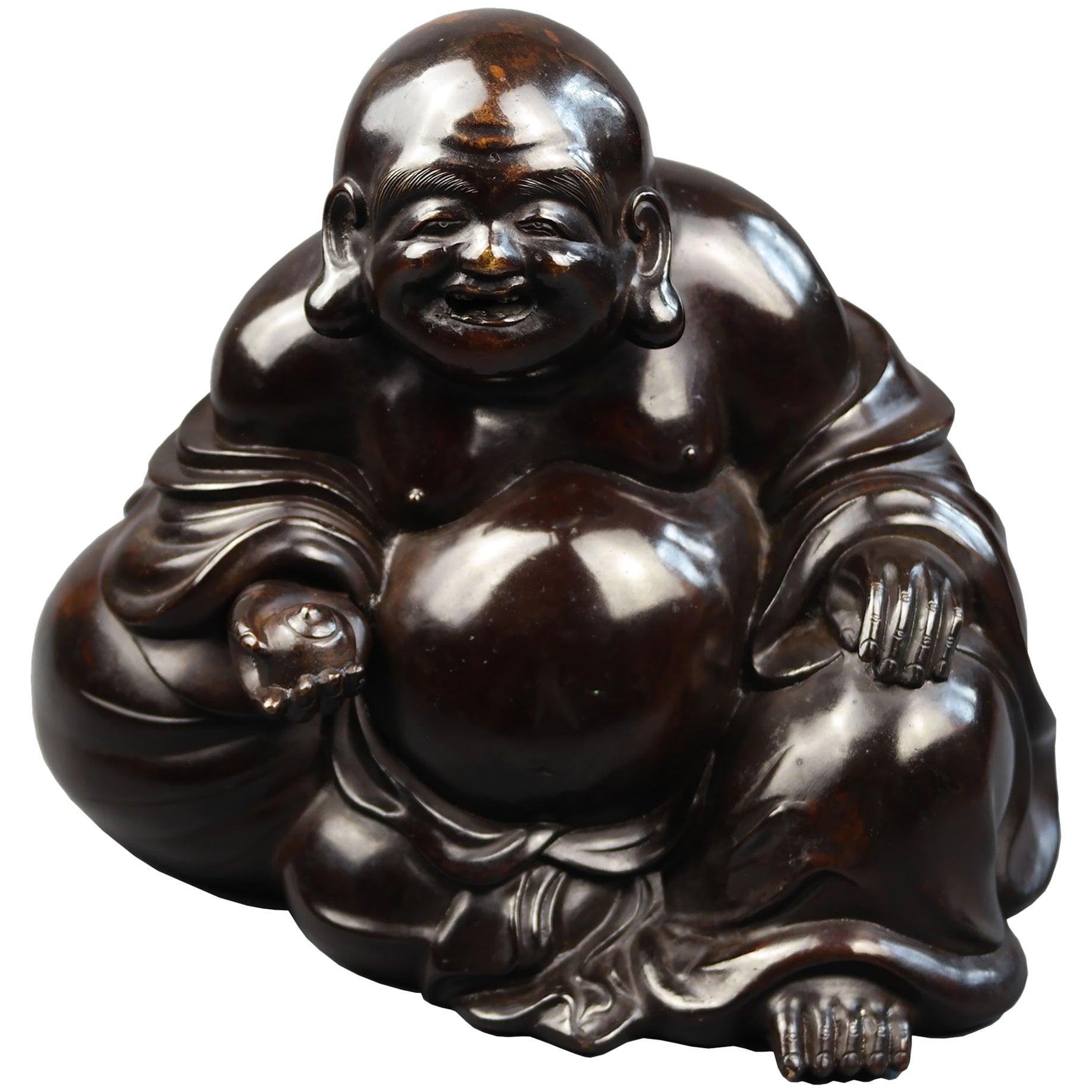 Early 19th Century, Hotei (Happy Buddha), Edo Period, Art of Japan