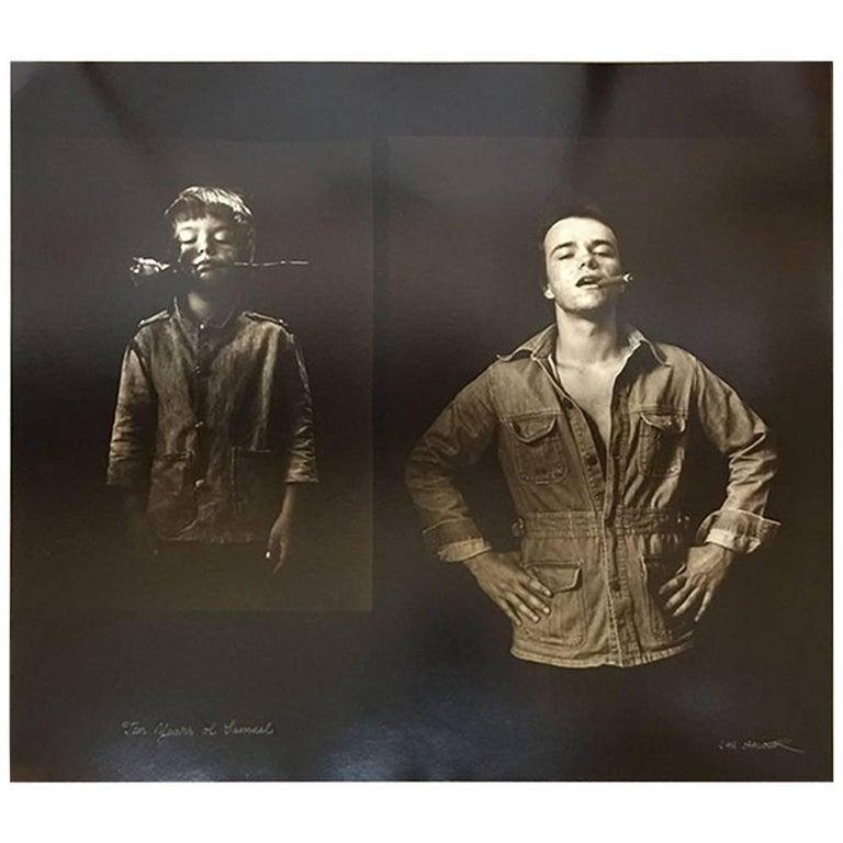 "Jan Saudek, ""Ten Years of Samuel"" Original Photograph"
