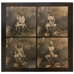"Jan Saudek, ""The Pretender"" # 877, Original Photograph"