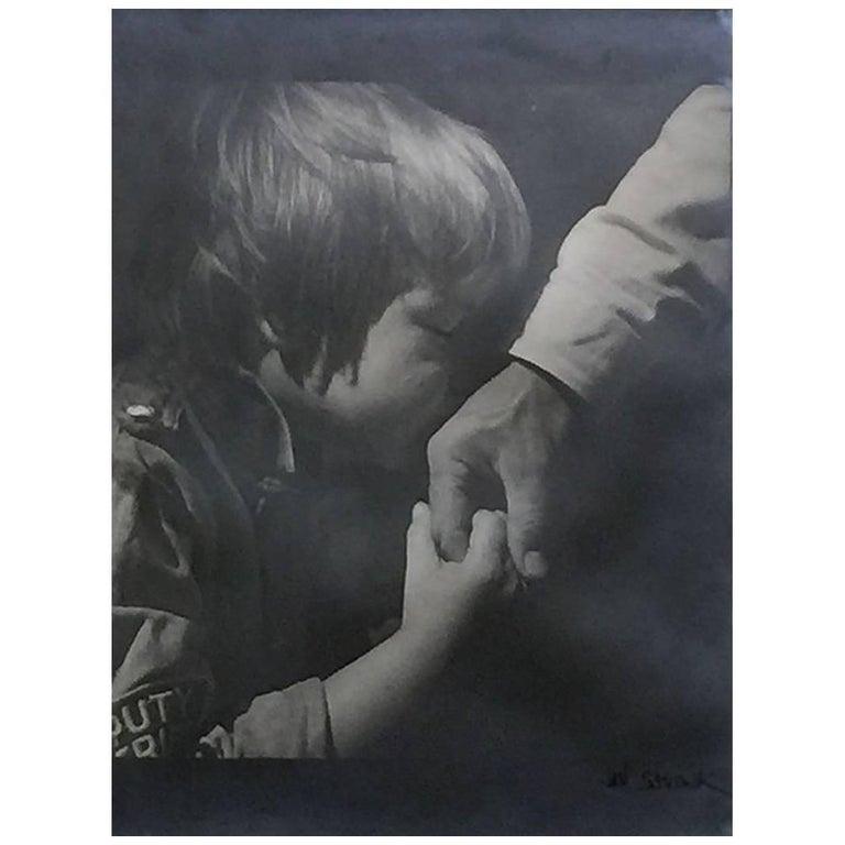"""Jan Saudek, """"My Son No.1"""", Original Photograph"""