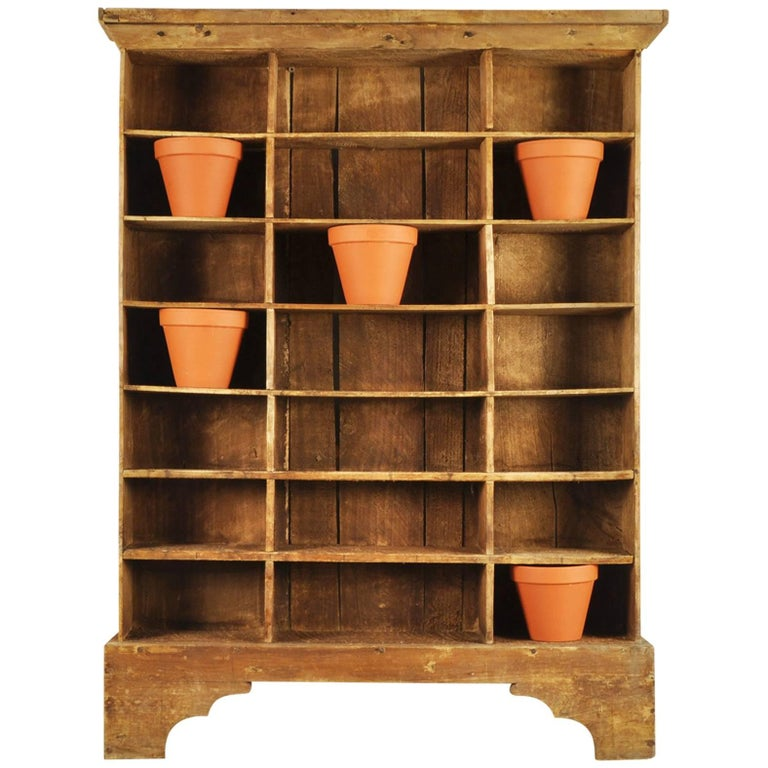 French Vintage Wooden Display Shelves