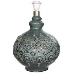 1970s Lladró Porcelain Standing Lamp
