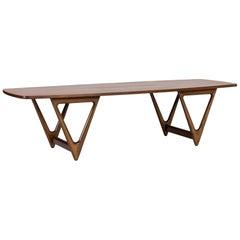 """Surfboard"" Coffee Table by Kurt Østervig"