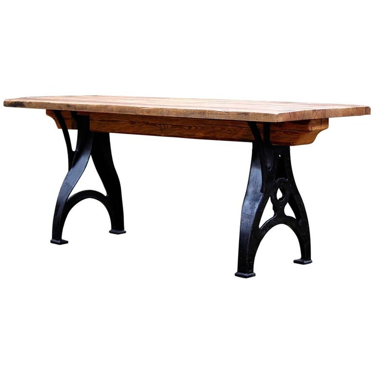 Czech Industrial Table, 1930s
