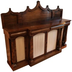 English William IV Rosewood Sideboard