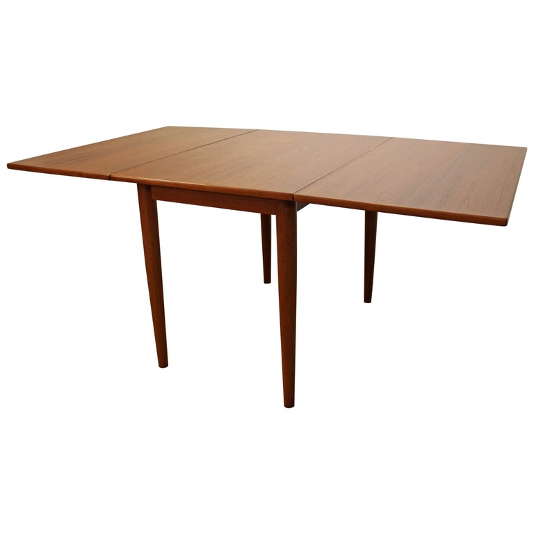 Skovmand & Andersen Teak Drop-Leaf Dining Table